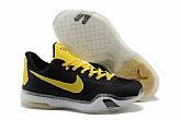 Nike Kobe 10 Low Black Yellow Mens Nike Kobe Bryant Basketball Shoes 11FX26,new jordan shoes,cheap jordan shoes,jordan retro 11,jordans shoes,michael jordan shoes