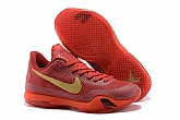 Nike Kobe 10 Low Red Gold Mens Nike Kobe Bryant Basketball Shoes 11FX16,baseball caps,new era cap wholesale,wholesale hats