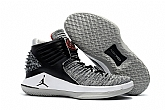 Air Jordan 32 MVP black cement Shoes 2018 Mens Air Jordans Retro 3s Basketball Shoes XY13,new jordan shoes,cheap jordan shoes,jordan retro 11,jordans shoes,michael jordan shoes