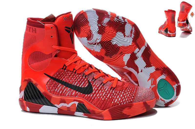 new concept 306ee 0d498 Nike Kobe 9 Elite Christma Mens Nike Kobe Bryant Basketball Shoes SD71