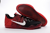 Nike Kobe 11 Black Red White Mens Nike Kobe Bryant Basketball Shoes SD7,baseball caps,new era cap wholesale,wholesale hats