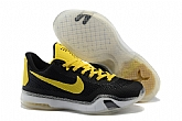 Nike Kobe 10 Low Black Yellow Mens Nike Kobe Bryant Basketball Shoes 11FX26,baseball caps,new era cap wholesale,wholesale hats