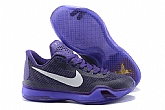 Nike Kobe 10 Low Laker Purple Mens Nike Kobe Bryant Basketball Shoes 11FX17,baseball caps,new era cap wholesale,wholesale hats