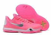 Nike Kobe 10 Think Pink Mens Nike Kobe Bryant Basketball Shoes SD48,baseball caps,new era cap wholesale,wholesale hats