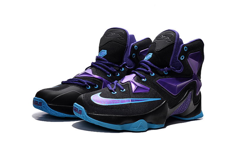 Blue And Purple Lebron James Shoes