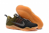 Nike Kobe 11 Elite Low 4KB Black Horse Mens Nike Kobe Bryant Basketball Shoes SD68