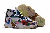 Nike Lebron 13 Flowers Glow Shoes Mens Nike Lebrons James Basketball Shoes SD43