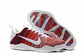 Nike Kobe 11 Elite Low Flyknit Red Horse Mens Nike Kobe Bryant Basketball Shoes SD65,baseball caps,new era cap wholesale,wholesale hats