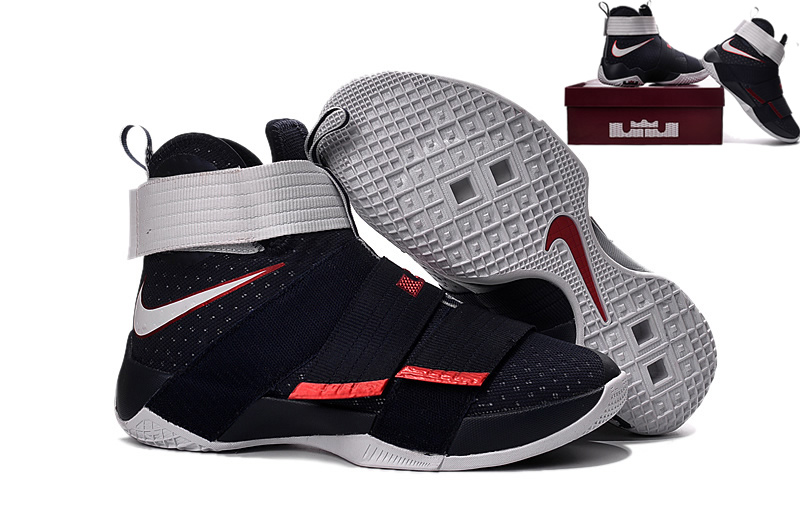 78feb01e4477d Nike Zoom LeBron Soldier 10 USA Mens Nike Lebron James Basketball Shoes SD5