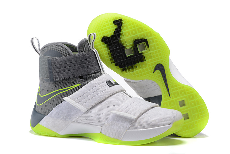 check out 6f995 7a4ae Nike Zoom LeBron Soldier 10 Mens Nike Lebron James Basketball Shoes SD16 -  Getfashionsstore.