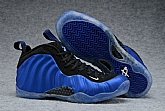 Nike Air Foamposite One Blue Black 2017 Mens Nike Foamposites Basketball Shoes SD65