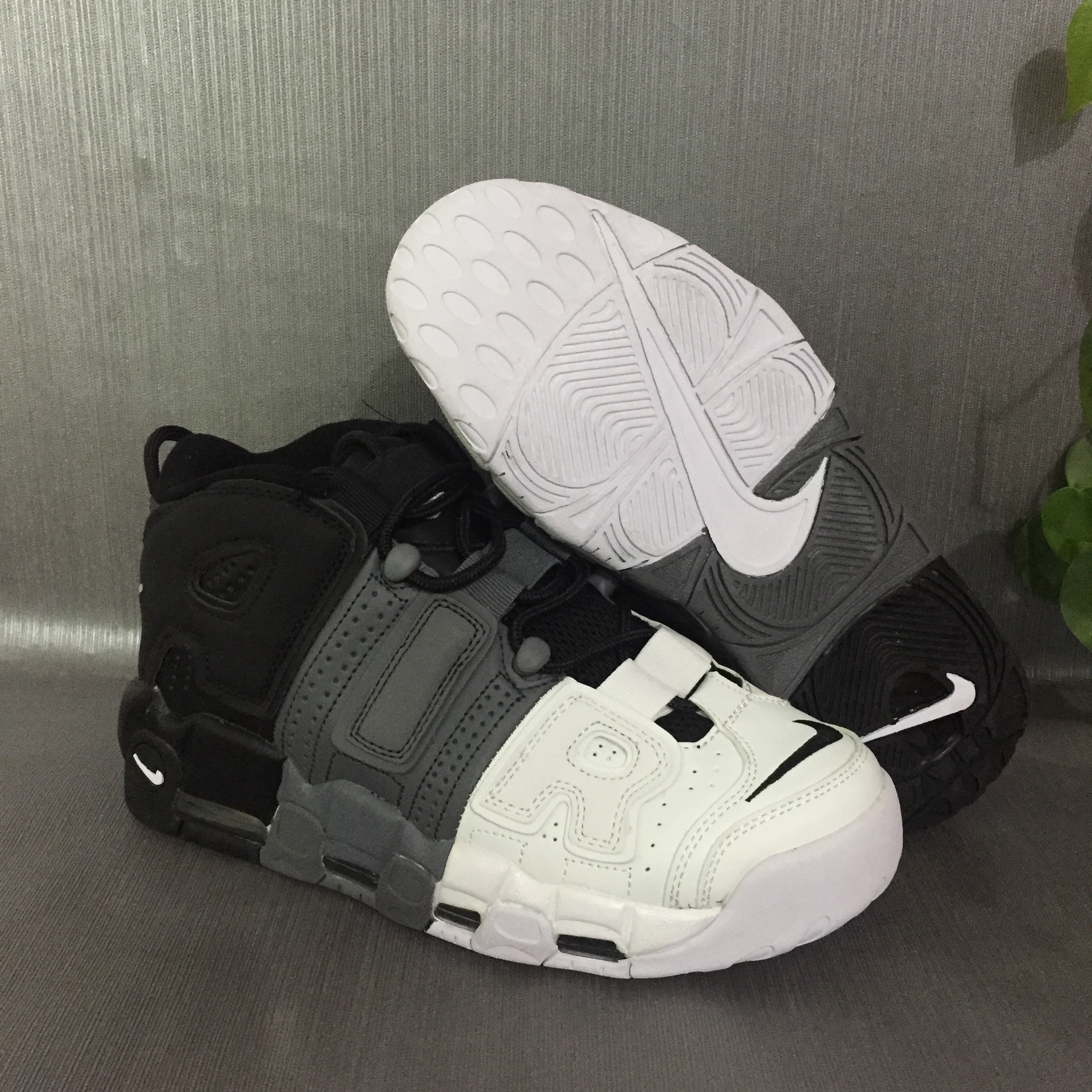 Nike Air More Uptempo Tri Color Mens Nike Air Max Running Shoes SD22 Getfashionsstore.