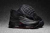 Air Max 97 Black Red High Top Mens Air Max Running Shoes SD1