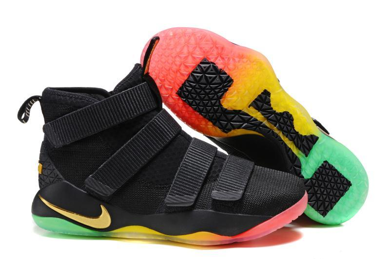 premium selection 66172 37b51 Nike LeBron Soldier 11 Mens Nike Lebron James Basketball Shoes SD9 -  Getfashionsstore.
