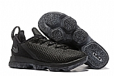 Nike Lebron 14 Low Shoes Black Mens Nike Lebrons James 14s Basketball Shoes SD13