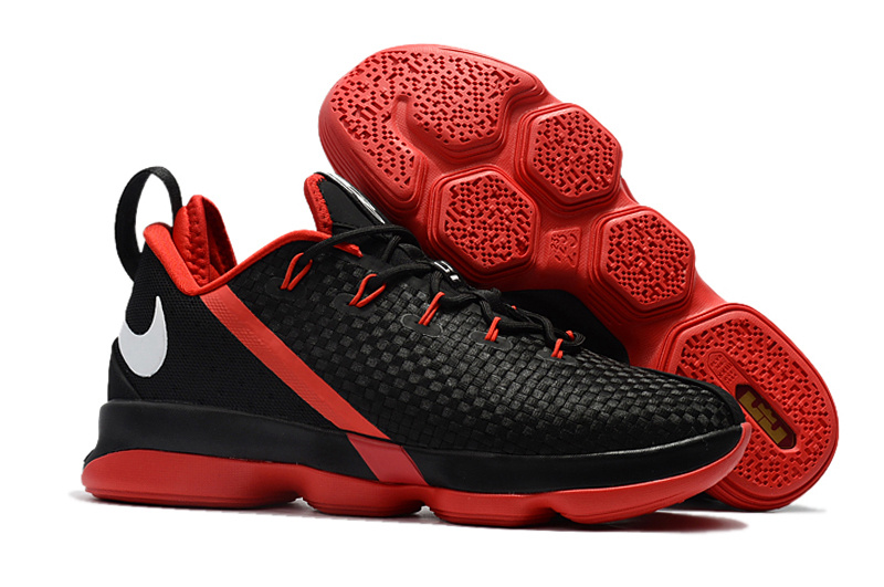 size 40 208fc f5db5 Nike Lebron 14 Low Shoes Black Red Mens Nike Lebrons James 14s Basketball  Shoes SD17 - Getfashionsstore.