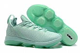 Nike Lebron 14 Low Shoes Green Mens Nike Lebrons James 14s Basketball Shoes SD12