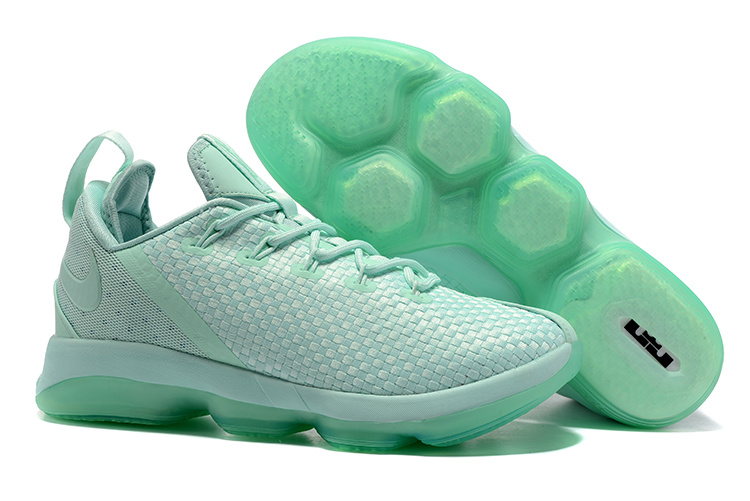 low priced c6988 33b3b Nike Lebron 14 Low Shoes Green Mens Nike Lebrons James 14s Basketball Shoes  SD12 - Getfashionsstore.