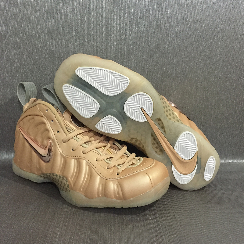 sports shoes 5e06c e852d Nike Air Foamposite Pro Rose Gold Mens Nike Foamposites Basketball Shoes  SD62 - Getfashionsstore.