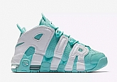 Nike Air More Uptempo GS Island Green Girls Womens Nike Air Max Running Shoes SD8,baseball caps,new era cap wholesale,wholesale hats