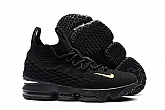 Nike LeBron 15 Black Mens Nike Lebrons James 15s Basketball Shoes AAA Grade SD31,baseball caps,new era cap wholesale,wholesale hats