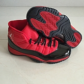 Air Jordan 11 Retro Red Black 2018 Mens Air Jordans Retro 11s Basketball Shoes XY286