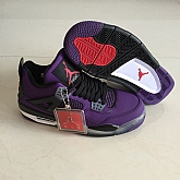 Air Jordans 4 Retro Purple 2018 Mens Air Jordans Retro 4s Basketball Shoes AAA Grade XY211