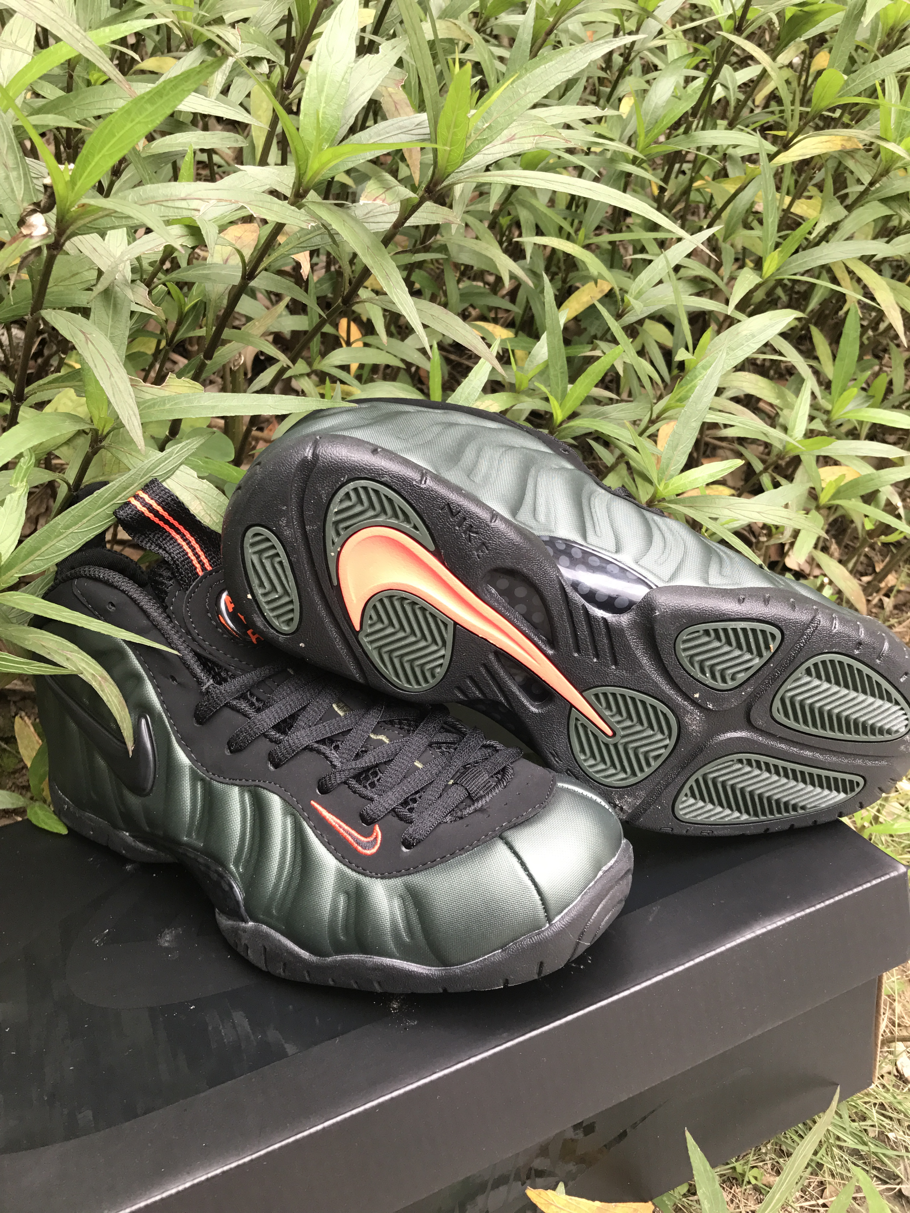 the best attitude 6f43a 674ec Nike Air Foamposite Pro Sequoia 2018 Mens Nike Foamposites Basketball Shoes  SD66 - Getfashionsstore.