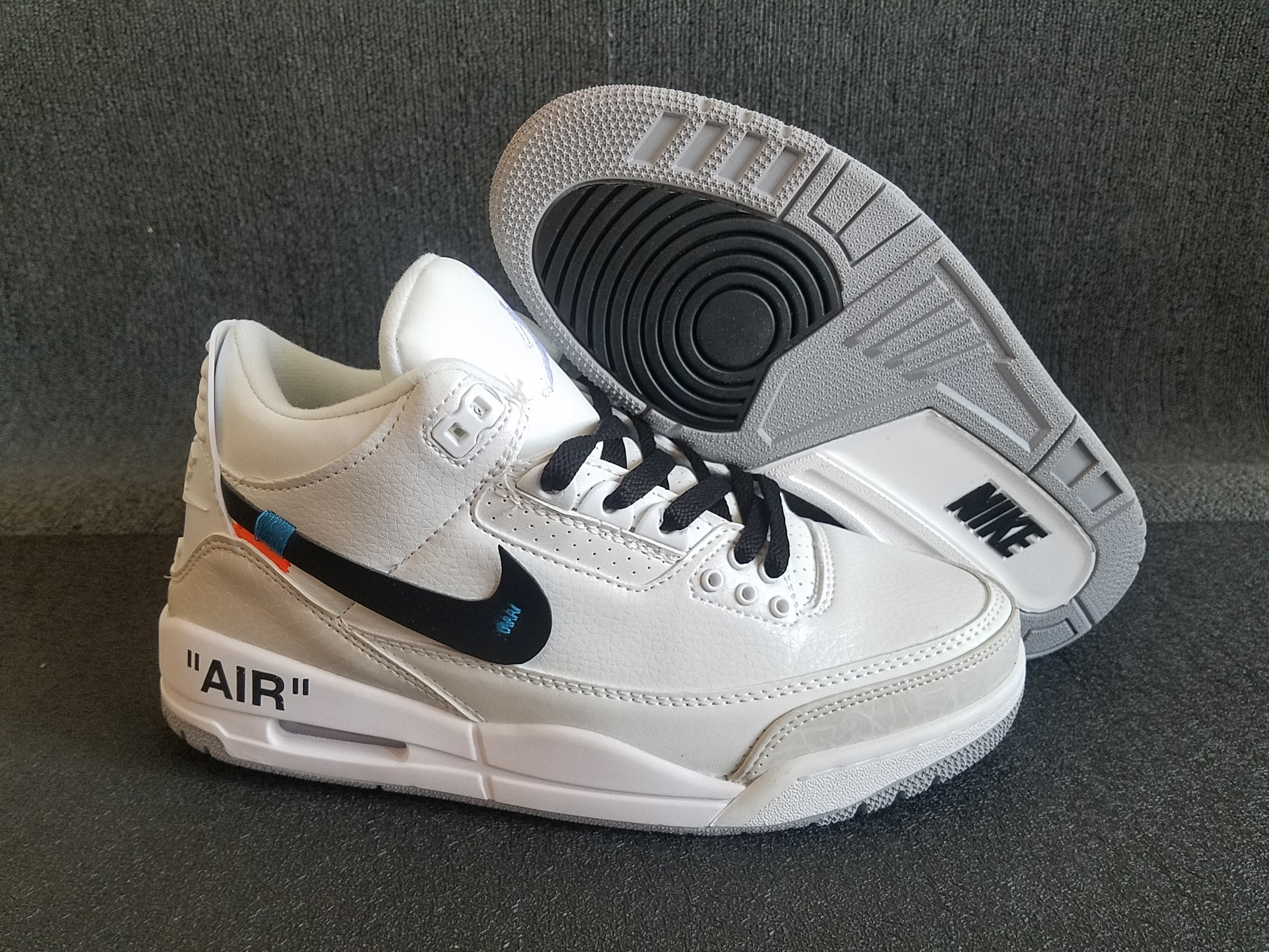 online store ced22 20789 Off-white Air Jordan 3 Retro 2018 Mens Air Jordans Retro 3s Basketball  Shoes XY137 - Getfashionsstore.