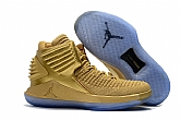 Air Jordan 32 Shoes Glod 2018 Mens Air Jordans Retro 3s Basketball Shoes XY12