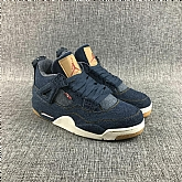 Air Jordans 4 Retro Denim 2018 Mens Air Jordans Retro 3s Basketball Shoes XY206,new jordan shoes,cheap jordan shoes,jordan retro 11,jordans shoes,michael jordan shoes