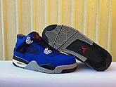 Air Jordans 4 Retro Blue Black 2018 Mens Air Jordans Retro 4s Basketball Shoes XY207,baseball caps,new era cap wholesale,wholesale hats