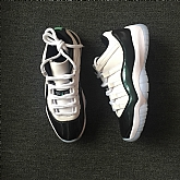 Air Jordan 11 Low Easter Iridescent Emerald Green 11s Mens Iridescent jordan 11 Basketball Shoes SD276