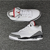 Air Jordan 3 Retro White Cement 2018 Mens Air Jordans Retro 3s Basketball Shoes XY125,baseball caps,new era cap wholesale,wholesale hats