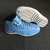Air Jordan 12 University Blue 2018 Mens Air Jordans Retro 12s Basketball Shoes XY189