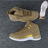 Air Jordan 12 Wheat 2018 Mens Air Jordans Retro 12s Basketball Shoes XY190,baseball caps,new era cap wholesale,wholesale hats