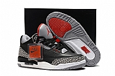 Air Jordan 3 OG Black Cement 2018 Mens Air Jordans Retro 3s Basketball Shoes AAAA Grade XY130,baseball caps,new era cap wholesale,wholesale hats