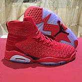 Air Jordan 6 Retro Flyknit Elevation 23 Red 2018 Mens Air Jordans Retro 6s Basketball Shoes XY244,baseball caps,new era cap wholesale,wholesale hats
