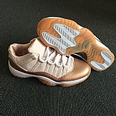 Air Jordans 11 Retro Rose Gold 2018 Girls Womens Air Jordans Retro 11s Basketball Shoes XY59,baseball caps,new era cap wholesale,wholesale hats