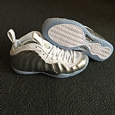 Nike Air Foamposite One Silver White 2018 Mens Nike Foamposites Basketball Shoes XY75