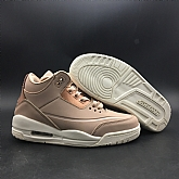 Air Jordan 3 Retro Rose Gold 2018 Girls Womens Air Jordans 3s Basketball Shoes XY1,baseball caps,new era cap wholesale,wholesale hats