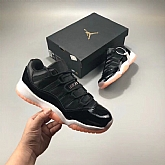 Air Jordan 11 Low Bleached Coral 2018 Girls Womens Air Jordans Retro 11s Basketball Shoes XY62,baseball caps,new era cap wholesale,wholesale hats