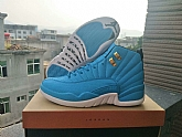 Air Jordan 12 Retro UNC 2018 Mens Air Jordans Retro 12s Basketball Shoes XY197