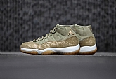 Air Jordan 11 Olive Lux Mens Retro Jordans 11s Shoes XY5