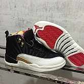 Air Jordan 12 CNY Chinese New Years Jordans 2019 Mens Retro Jordans 12s Shoes XY1