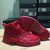Air Jordan 12 Retro Red 2018 Mens Air Jordans Retro 12s Basketball Shoes  XY195 3f69d15d5