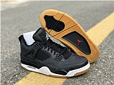 Air Jordan 4 Black Laser  Mens Retro Jordans 4s Shoes XY4,baseball caps,new era cap wholesale,wholesale hats