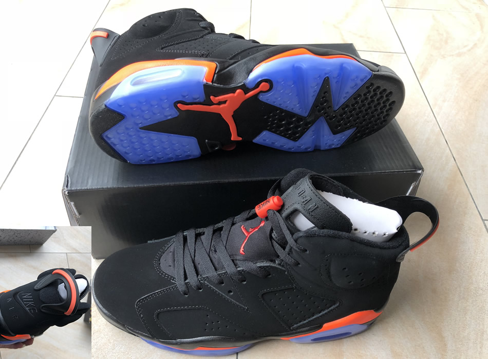 newest b8d45 09fc7 Air Jordan 6 Black Red 2019 Mens Retro Jordans 6s Shoes XY2 -  Getfashionsstore.