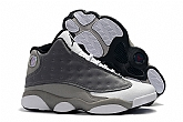 Air Jordan 13 High Top Grey Mens Retro Jordans 13s Shoes XY3,baseball caps,new era cap wholesale,wholesale hats
