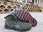 Air Jordan 10 Woodland Camo 2019 Mens Retro Jordans 10s Shoes SD2